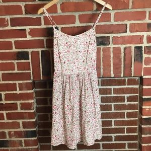 Garage Sweet Cream Berry Bustier Dress